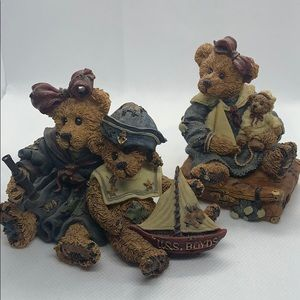 Vintage Boyds Bears - Elvira, Chauncey and Bailey